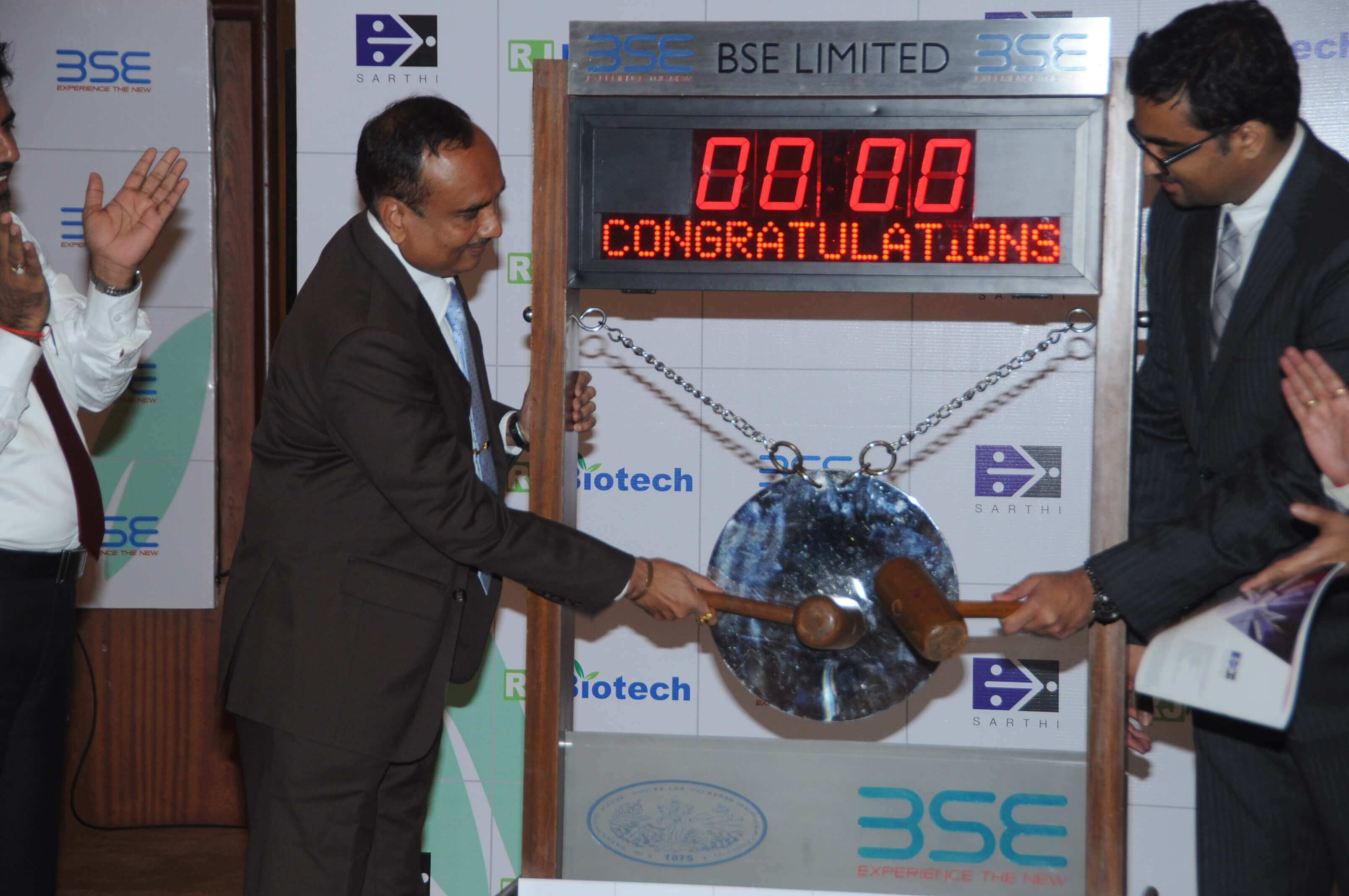 Listing Ceremony at BSE